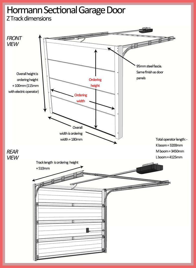 118 Reference Of Large Radius Garage Door Track In 2020 Garage Door Track Sectional Garage Doors Garage Doors