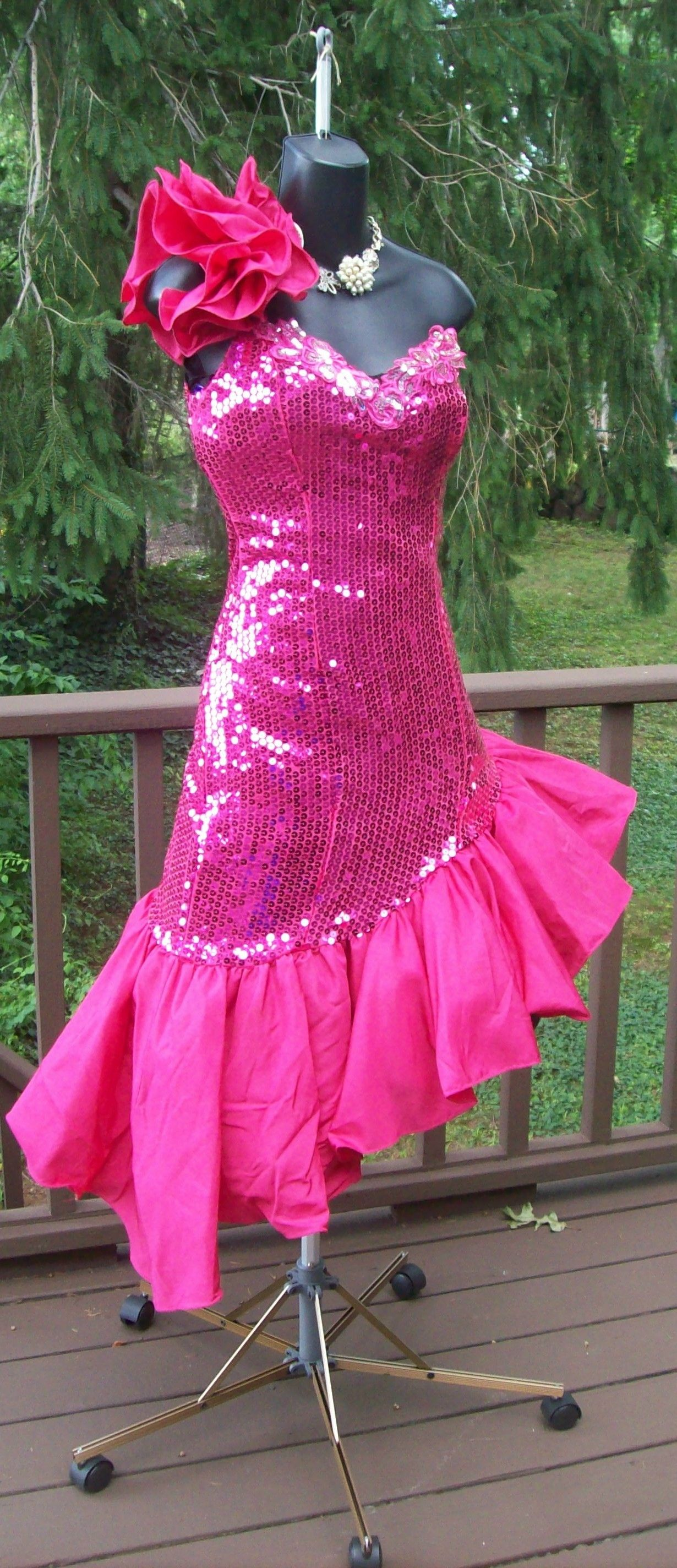 Authentic 80s prom party dress total wild child glam!!~~~~ come see ...
