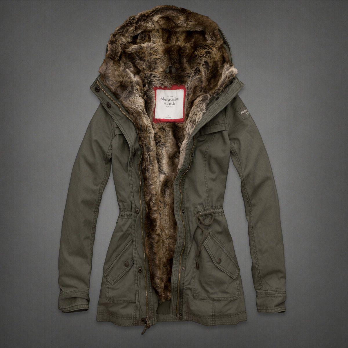 Womens Hallie Parka | Womens Outerwear | eu.Abercrombie.com ...