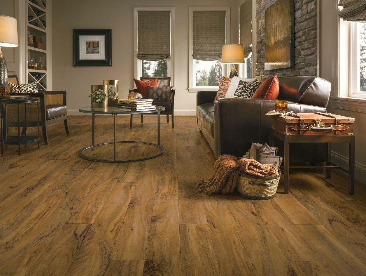 Rustic Wood Plank Flooring | Luxury Vinyl | LVP | Living ...