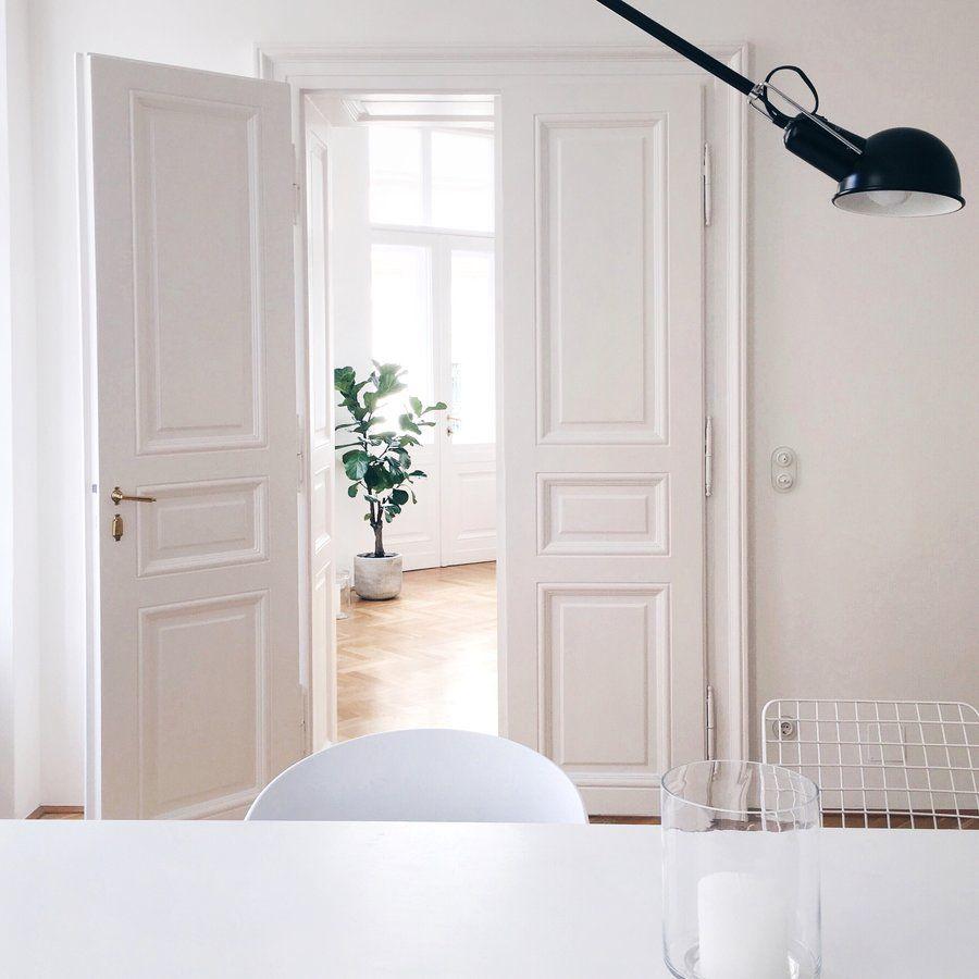 Ein Altbau-Traum in Weiß: zu Besuch bei traumzuhause in Wien | Baden ...