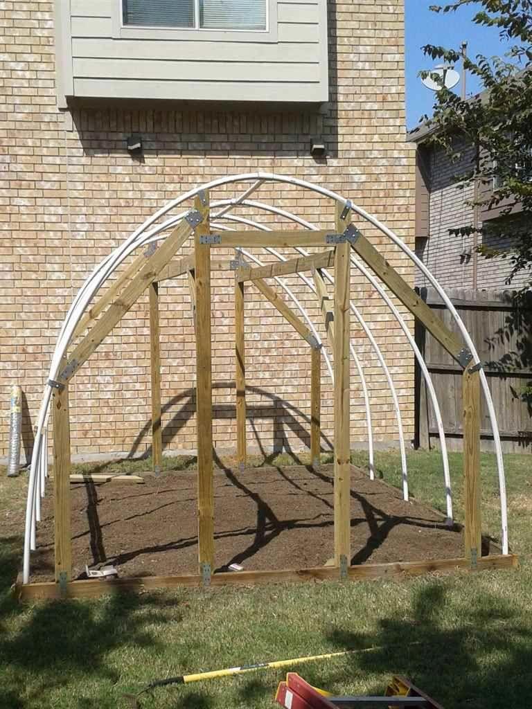 DIY Greenhouse Kit 10 ft Wide Hoop House in 2020