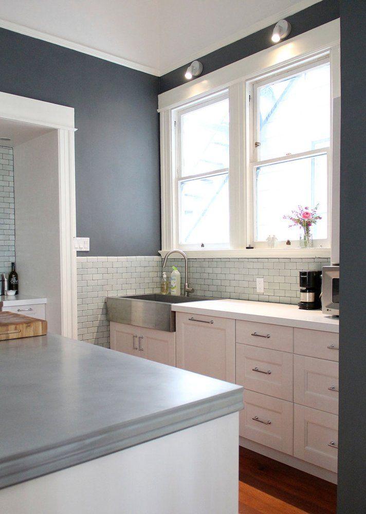 Elegant Modern Victorian Kitchen Design Victorian Kitchen Blue Kitchen Cabinets Home Decor Kitchen