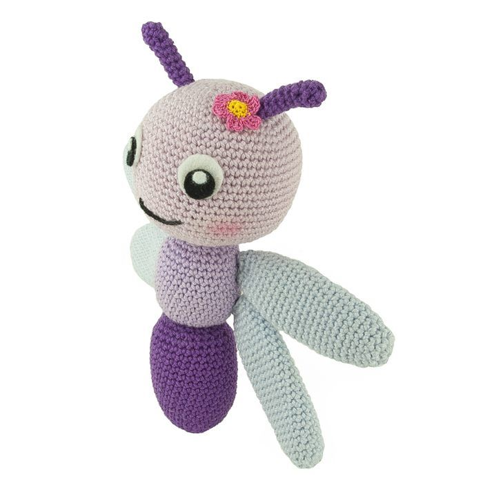 Crochet pattern Dragonfly | Matcha