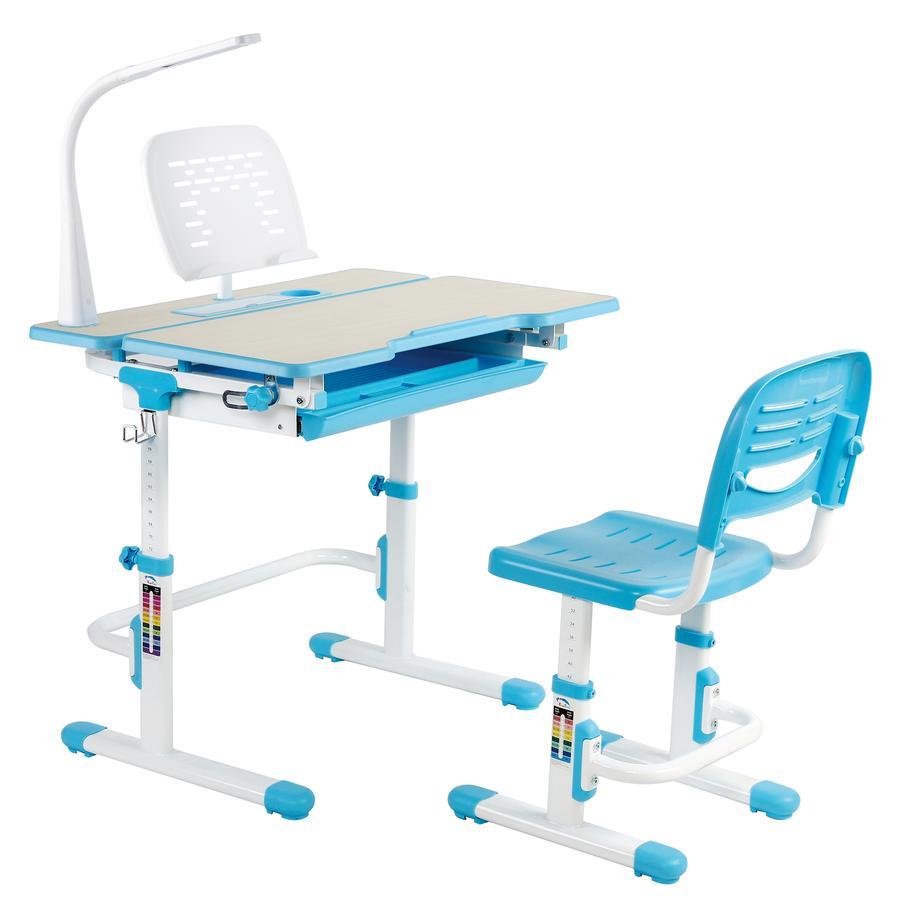 Desk V402b Kids Deluxe Height Adjustable Desk And Chair Childrens Desk Kids Desk Chair Adjustable Height Desk