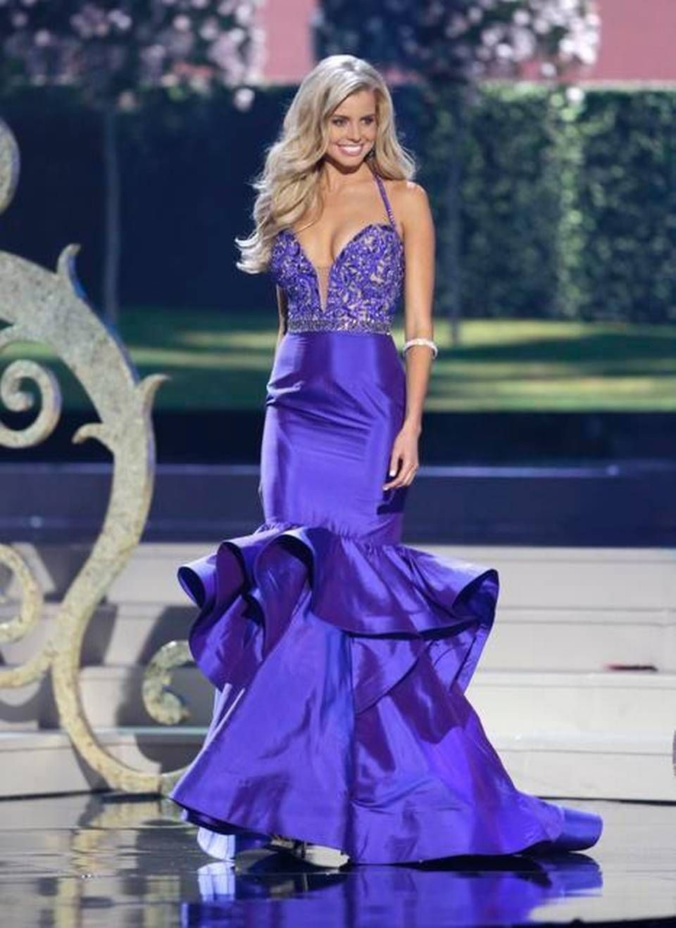 Miss Australia Tegan Martin poses during the Miss Universe pageant ...