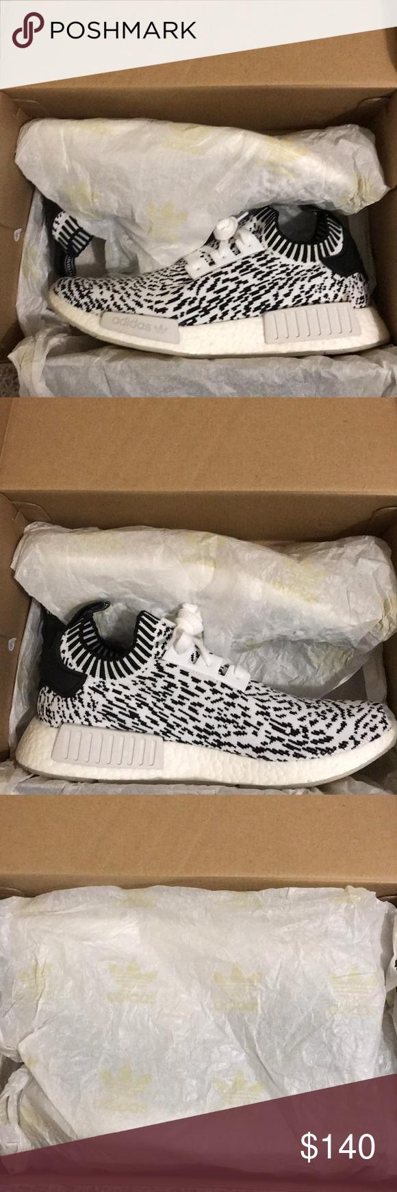 adidas nmd r1 primeknit scarpe nuove adidas nmd bianco e nero r1