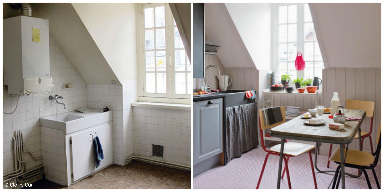 Relooking D Un Tres Joli Appartement A Saint Malo Cuisine