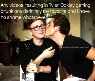 Tyler Oakley & Sawyer Hartman