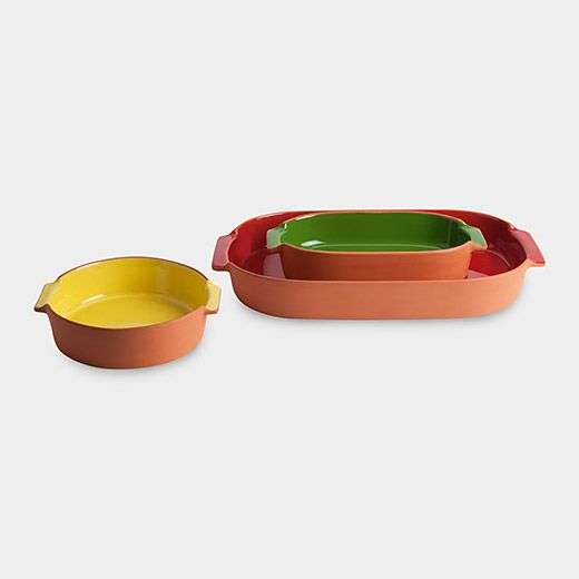 Terracotta Bakeware With Images Colorful Kitchen Accessories