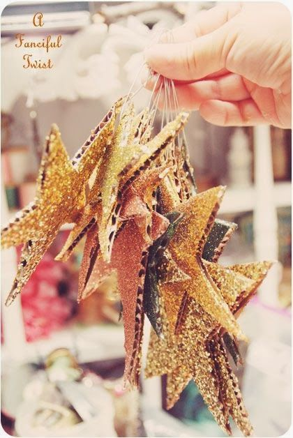 Christmas, #stars, decoration, gold, light - Weihnachten, #Sterne, Dekoration, gold, Licht ✯✯✯