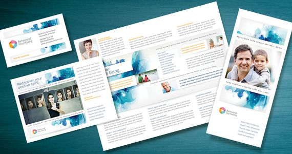 Market a Behavioral Counselor with Positive Messaging Medical - sample marketing brochure