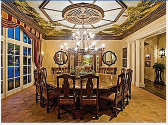 16 Seat Octagon Dining Room Table Dinning Room