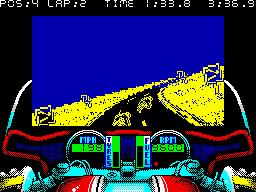 750cc Grand Prix Screenshots For Zx Spectrum Zx Gamepixels Xyz Grand Prix Spectrum Grands