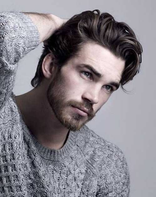 Longer Hairstyles For Men Cool Top Great Hairstyles For Men With Thick Hair  Men's Short