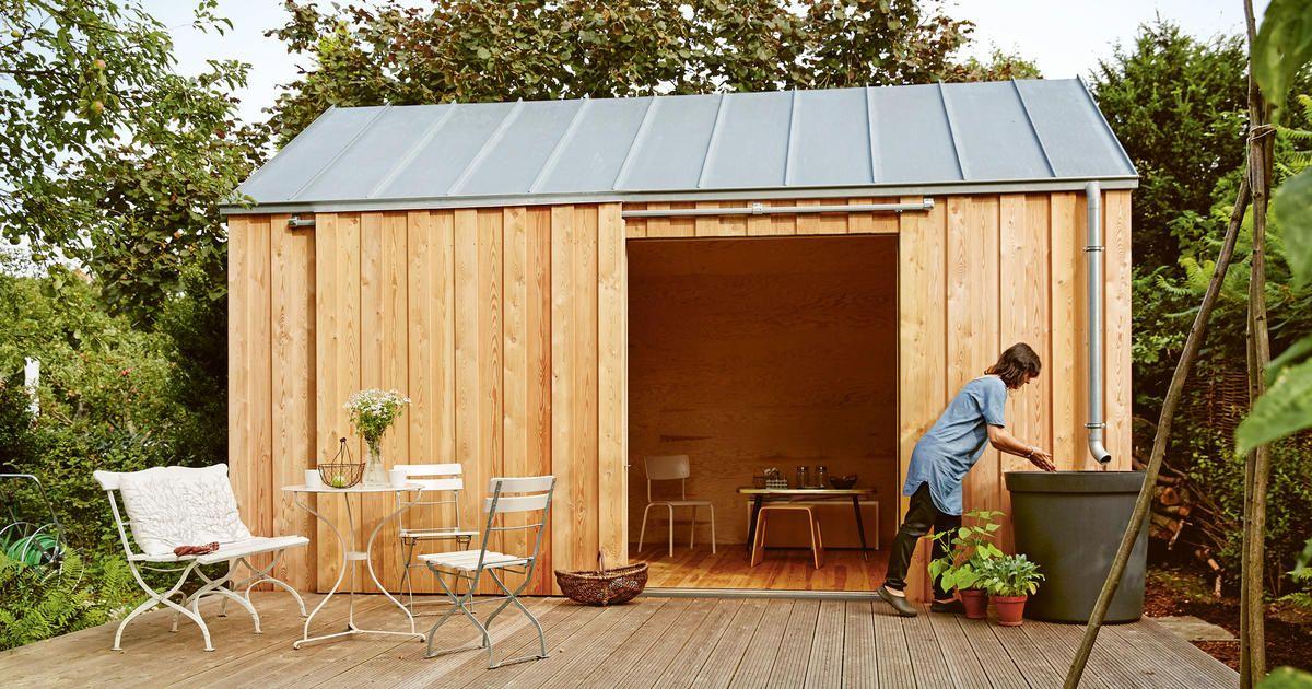 GartenhausIdeen für den Schrebergarten Gartenhaus