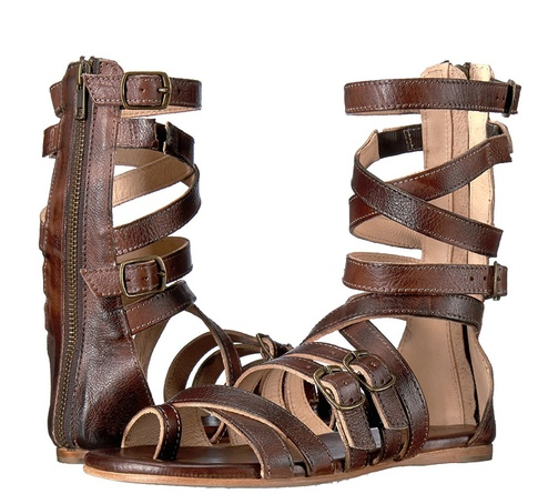e1dcc40b4 New Women Fashion Summer Roman Sandal Boots Back Zipper Belt Buckle Cross  Straps Flat Sandals