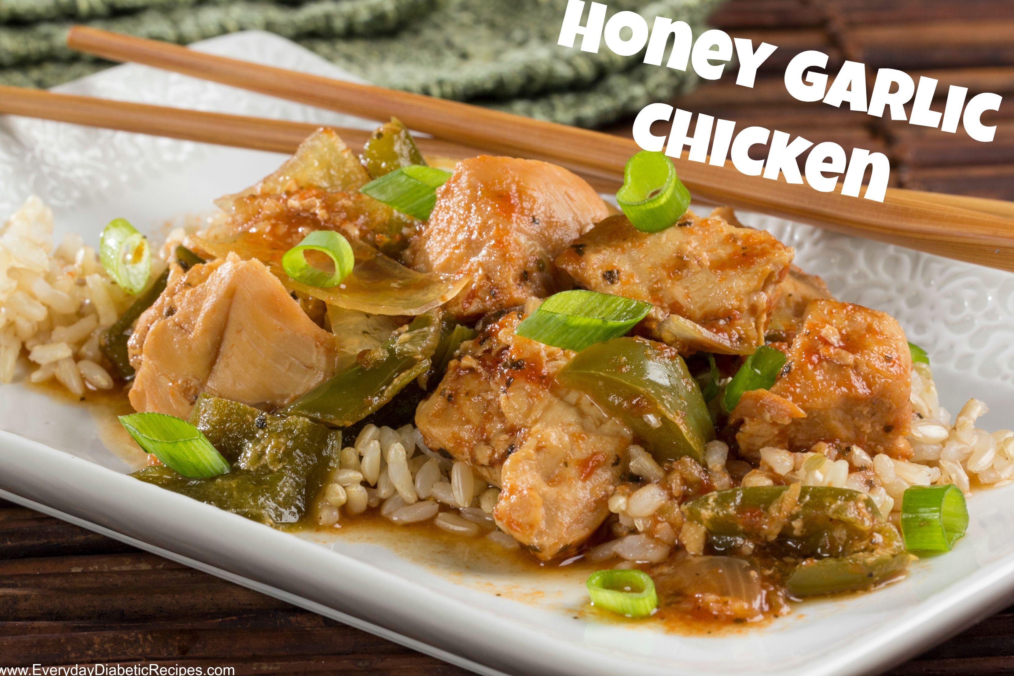 Honey garlic chicken cooker diabetic chicken recipes and diabetic honey garlic chicken chinese food recipesdiabetic forumfinder Choice Image