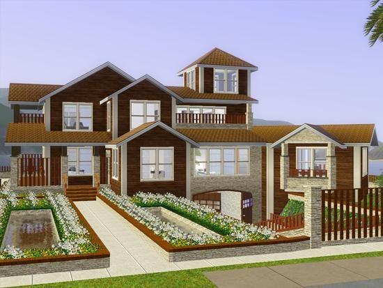 sims 3 house sims 3 content pinterest sims haus einrichten und wohnen und spiel. Black Bedroom Furniture Sets. Home Design Ideas