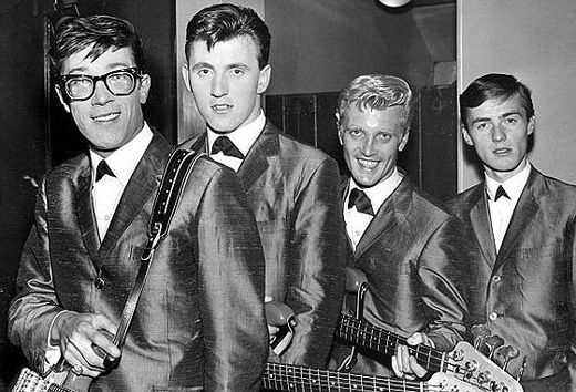 The Shadows Pictured In 1960 Wearing The Italian (tonic