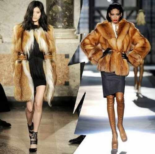 fur coat and jacket