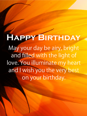 Wish you the very best happy birthday card send her a card of wish you the very best happy birthday card send her a card of love bookmarktalkfo Image collections