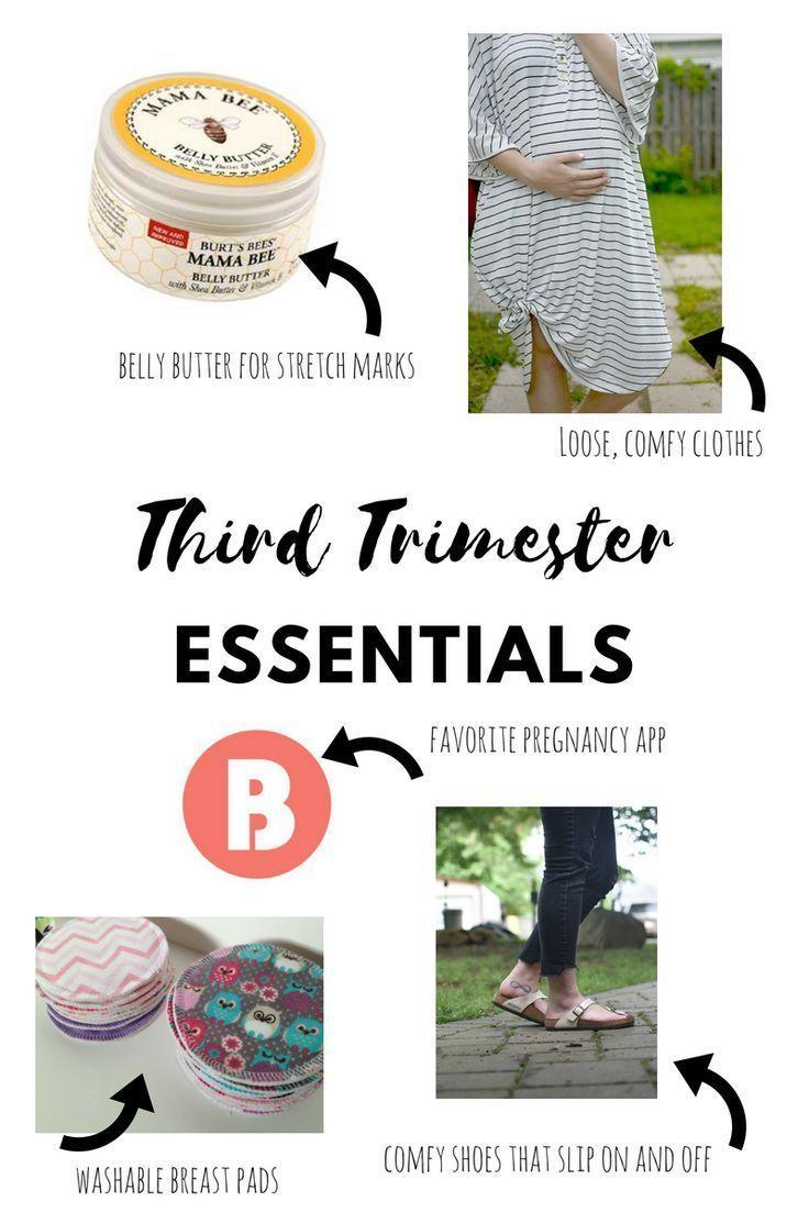 Third Trimester Essentials Third trimester, Trimester