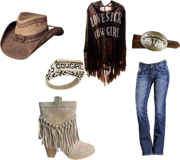 """cowgirl"" by faithspraggins on Polyvore"