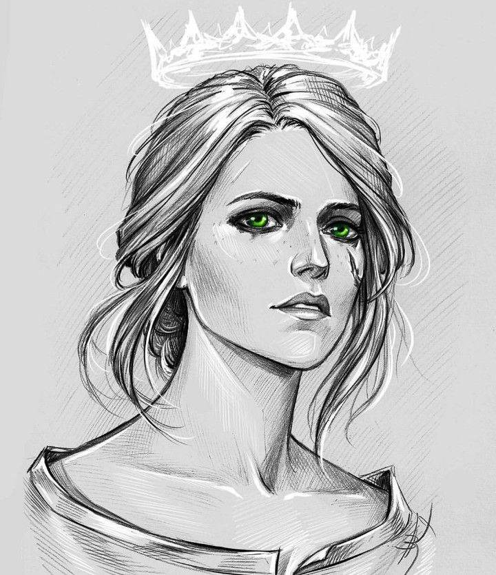 Ciri The Witcher 3 Art