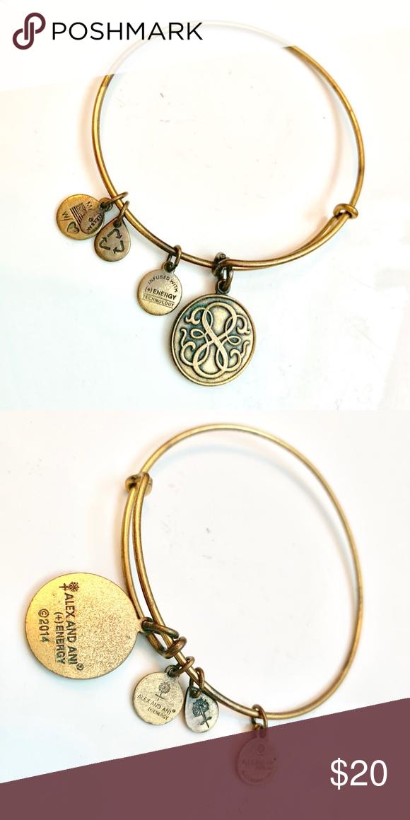Ani Positive Energy Bracelet Gold