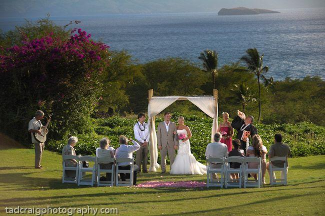 Maui Hawaii Wedding On The Golf Course Followed By Wonderful Dinner At Gannons Restaurant
