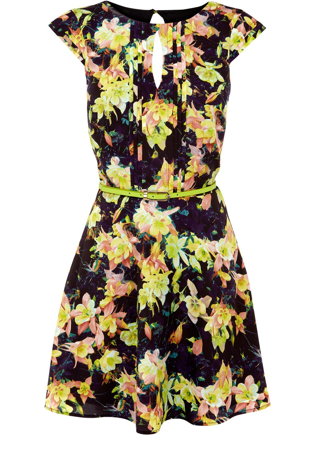 Photo Floral Skater Dress from Oasis. #floralbridesmaid #weddingstyle