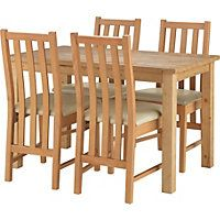 Dining Sets At Homebase Table Room And Oak For Sale Online In The UK