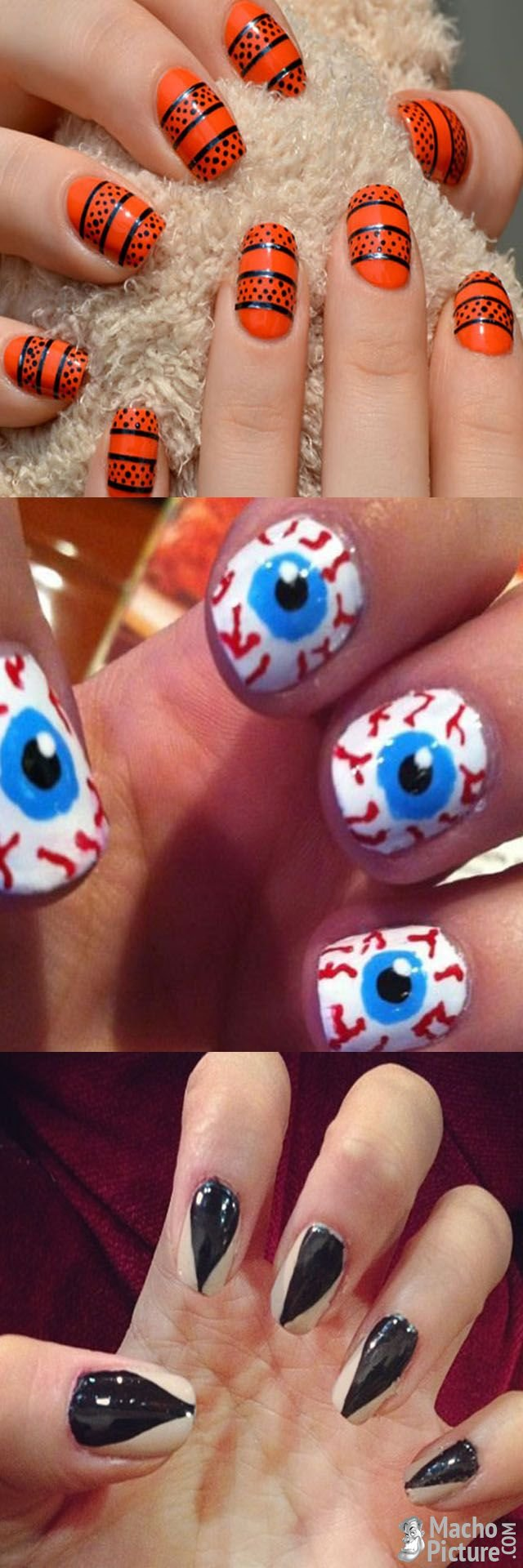halloween false nails | Halloween nails, Nails, False nails