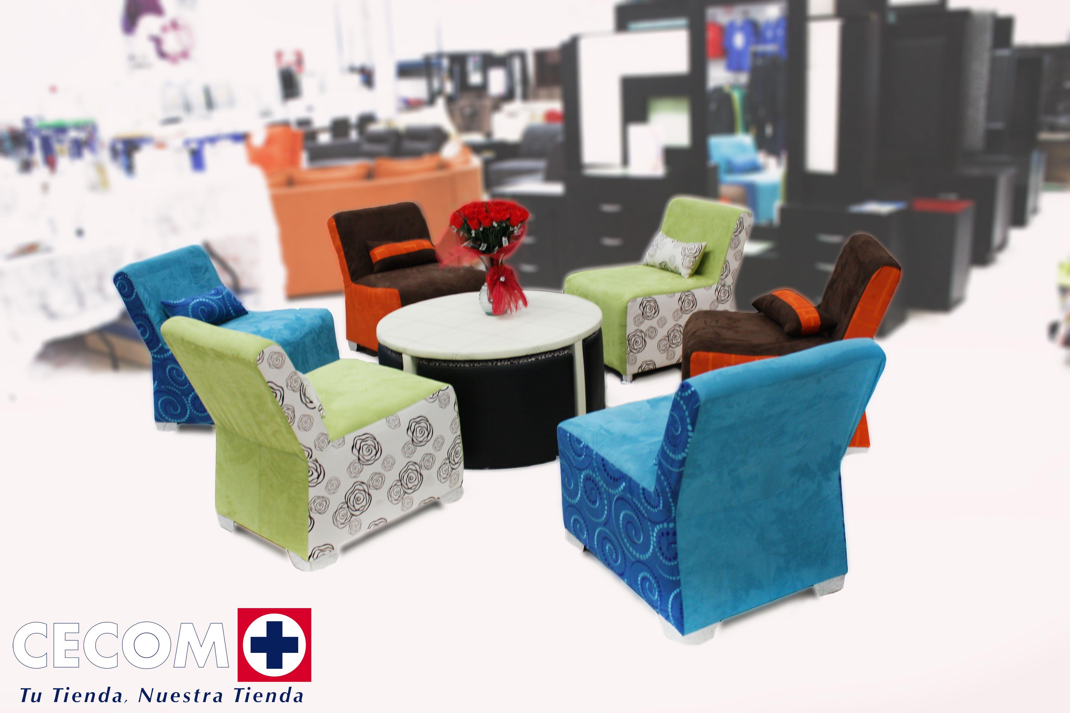 Muebles para todo gusto y ocasión! Solo en CECOM!