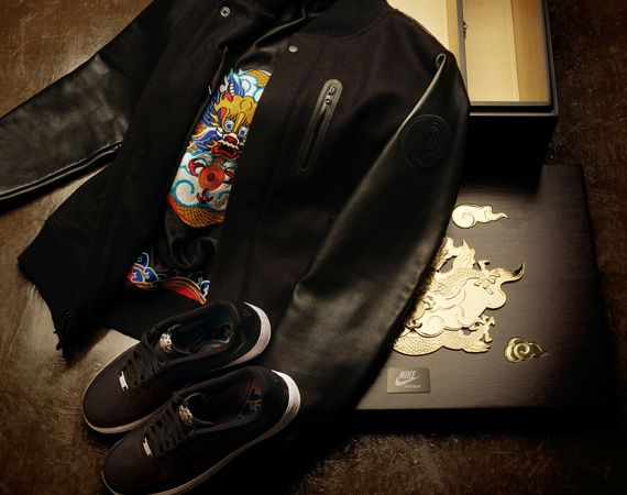 low priced d9fad 7e4ea That whole thing about the Nike Air Force 1 Low being perhaps the least  imrpessive of the Nike  Year of the Dragon  collection in terms of  packaging — you ...