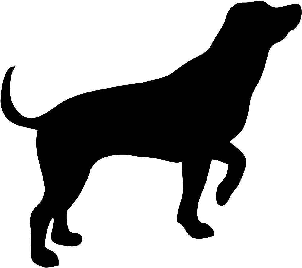 image detail for dog silhouette vector clip art free vector for rh pinterest com