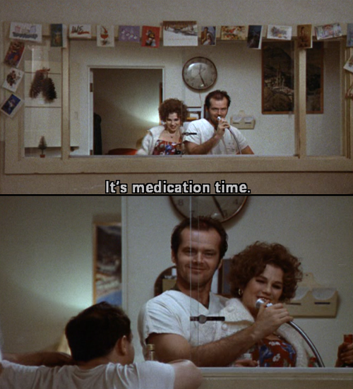 One Flew Over The Cuckoos Nest Quotes: One Flew Over The Cuckoo's Nest, It's Medication Time