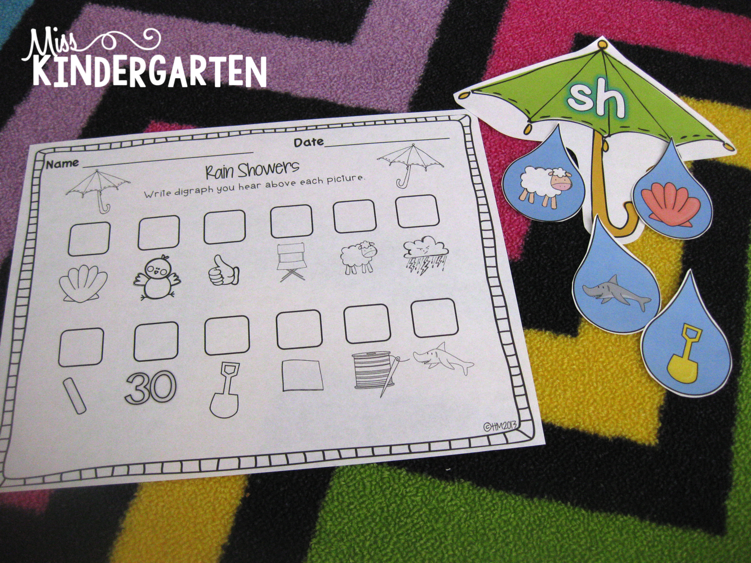 Spring Centers For First Grade