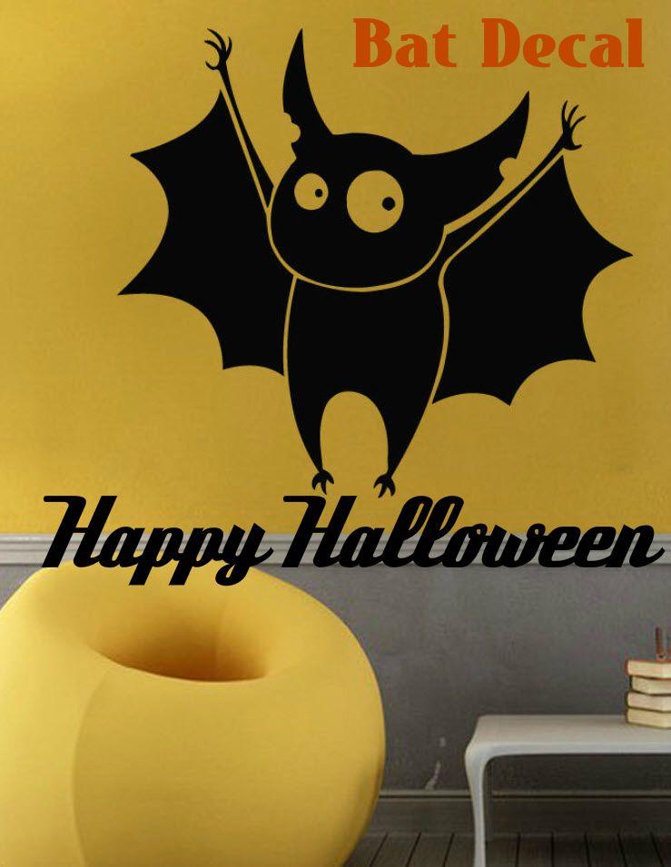 Wall Decals Vinyl Decal Sticker Art Mural Kid Decor Halloween Cute - halloween cute decorations