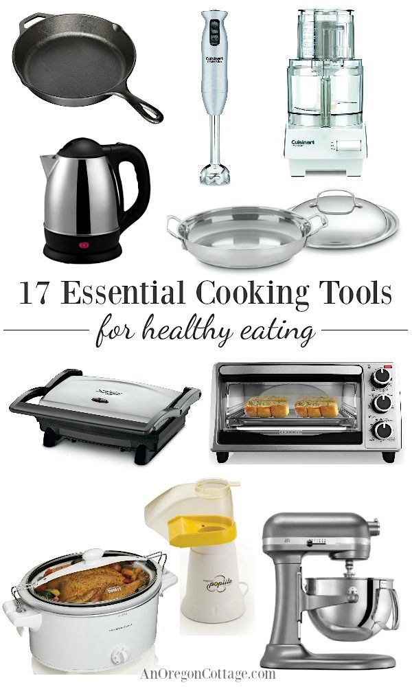 17 Essential Cooking Tools For Healthy Eating Cookware Small
