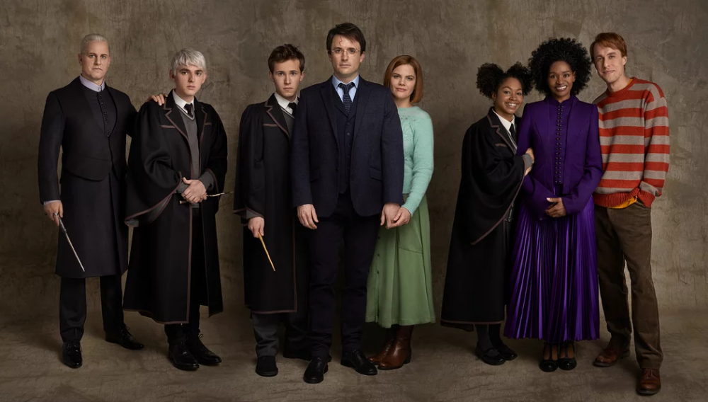 See The New Harry Ron And Hermione Joining Broadway S Harry Potter And The Cursed Child Harry Potter Cursed Child Cursed Child Rose Granger Weasley