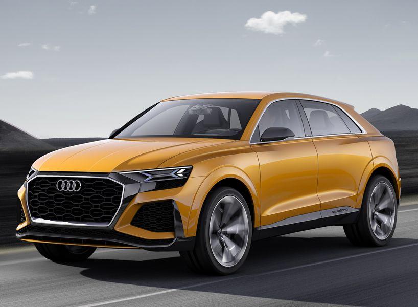 Audi Q8 Sport Concept Previews Luxury Suv With 1190 Km Range Audi Q4 Audi Audi Rs