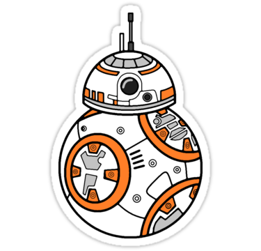 Bb8 stickers by wss3 redbubble