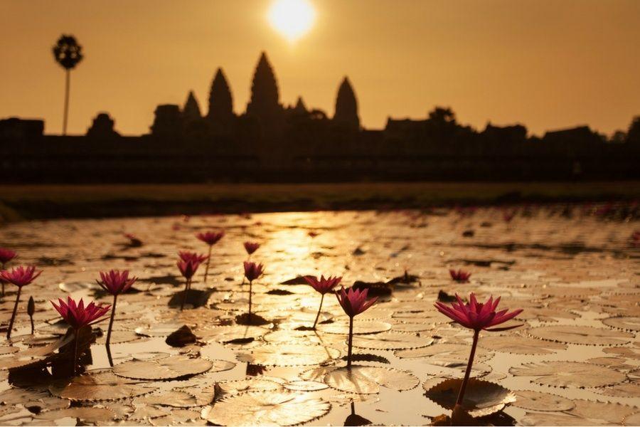 un séjour entre filles au cambodge