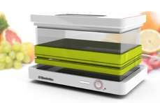 My Lunchbox Leaves the Task of Heating Meals to Your Office Desktop #mostamazinggadgets #techgadgets trendhunter.com