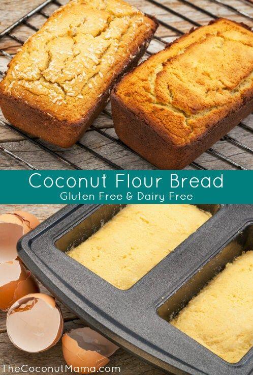 Coconut Flour Bread Recipe 6 Organic Eggs At Room Temperature
