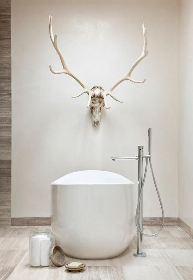Modern Antler Decor Deer Decoration As A Highlight In Any Interior