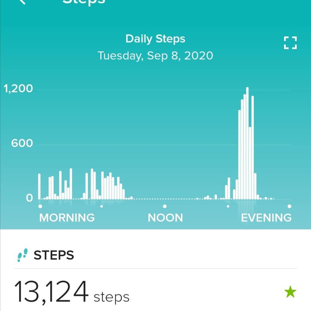 #10000stepgoal #fitness #walking #stayingactive #getfit #gettinghealthy #healthy #eatingbetter #yesterdayssteps #persistence #exercise