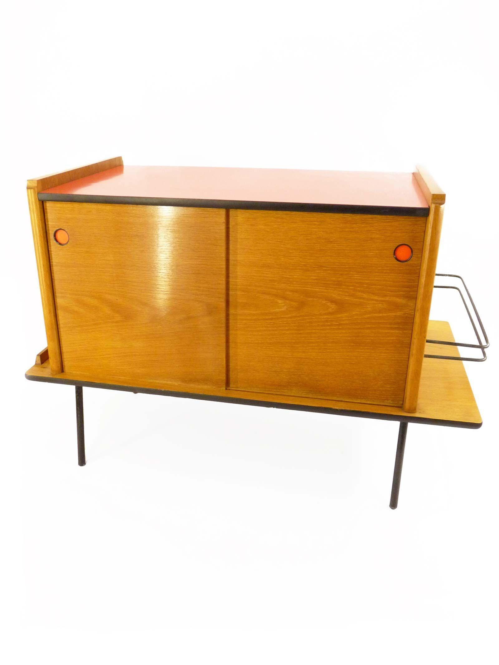 Petit meuble ann es 50 meubles selon les poques pinterest meuble annee 50 petit meuble - Meuble tv annee 50 ...